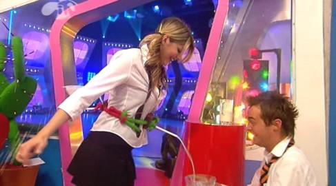 <p>Holly & Stephen's Saturday Showdown is a CITV children's game show which was broadcast on the ITV Network from January 2004 to July 2006 and launched the blonde beauty's career. </p>