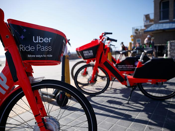 Uber sold its share e-bike and scooter business earlier this year.