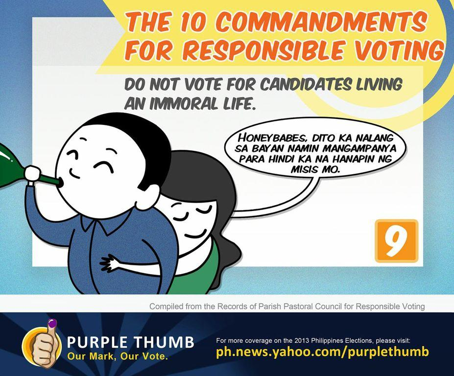PPCRV's guide to voting