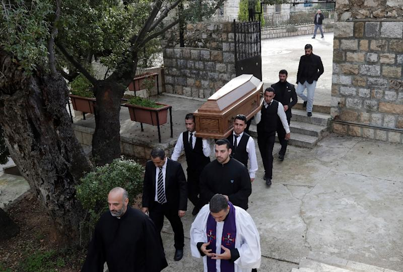 Image result for Murdered British radio host laid to rest in Lebanon