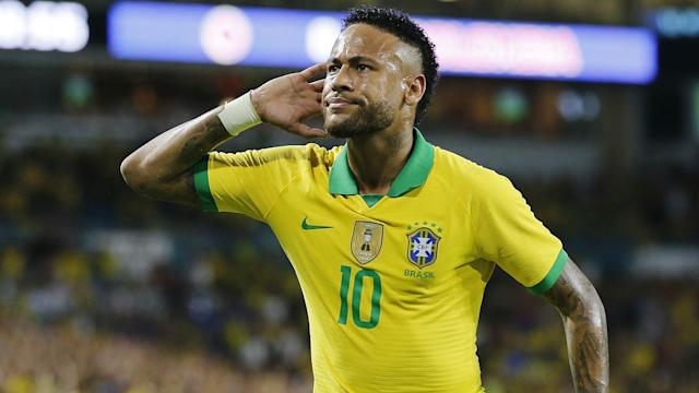Neymar may be getting booed by Paris Saint-Germain fans, but Tite said the forward is happy with Brazil.