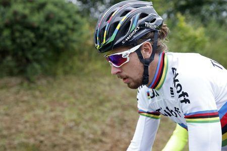 FILE PHOTO: Cycling - Tour de France cycling race - Training ahead of the weekend's start - Coutances, France - 1/07/2016 - Tinkoff rider Peter Sagan of Slovakia during a training session - REUTERS/Juan Medina Picture Supplied by Action Images/File Photo