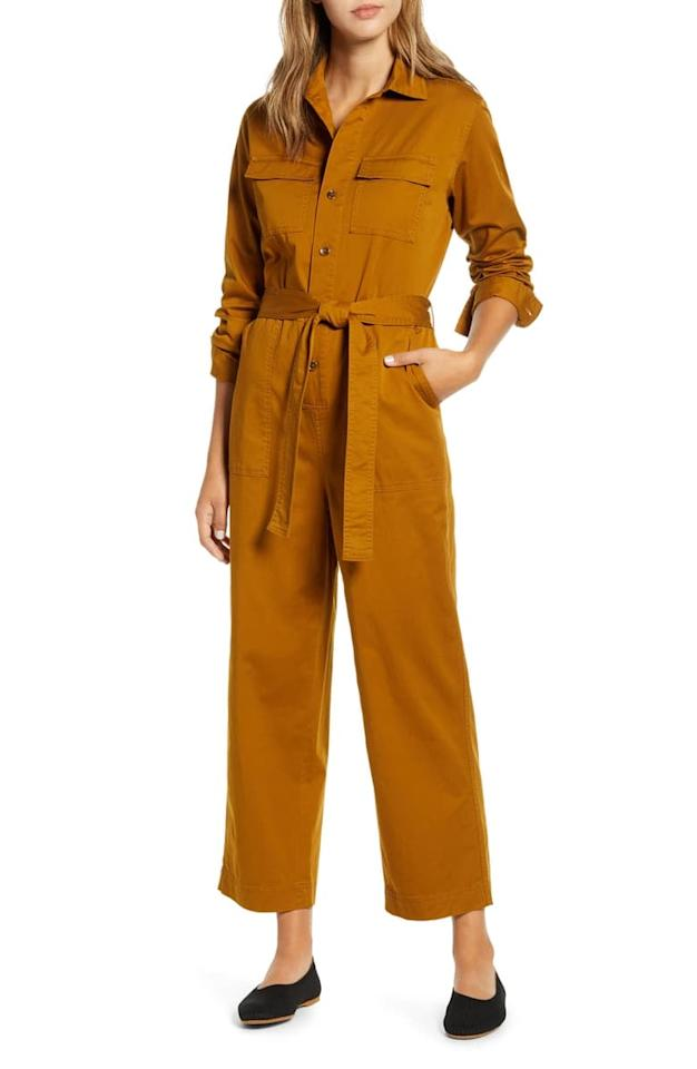 """<p>How cool is this <a href=""""https://www.popsugar.com/buy/Everlane-Modern-Utility-Jumpsuit-498098?p_name=Everlane%20The%20Modern%20Utility%20Jumpsuit&retailer=shop.nordstrom.com&pid=498098&price=98&evar1=fab%3Aus&evar9=46716443&evar98=https%3A%2F%2Fwww.popsugar.com%2Ffashion%2Fphoto-gallery%2F46716443%2Fimage%2F46717711%2FEverlane-Modern-Utility-Jumpsuit&list1=shopping%2Cnordstrom%2Cfall%20fashion%2Cfall%2Ceverlane%2Csustainable%20fashion&prop13=mobile&pdata=1"""" rel=""""nofollow"""" data-shoppable-link=""""1"""" target=""""_blank"""" class=""""ga-track"""" data-ga-category=""""Related"""" data-ga-label=""""https://shop.nordstrom.com/s/everlane-the-modern-utility-jumpsuit/5417350?origin=category-personalizedsort&amp;breadcrumb=Home%2FPop-In%40Nordstrom%2FWomen&amp;color=brass"""" data-ga-action=""""In-Line Links"""">Everlane The Modern Utility Jumpsuit</a> ($98)?</p>"""