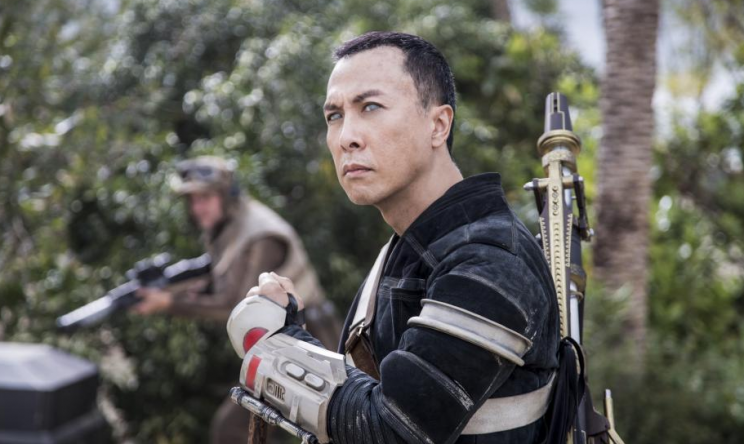 Star Wars Rogue One Chirrut Imwe donnie yen