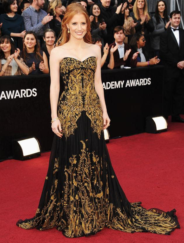 Oscars 2012: Jessica Chastain