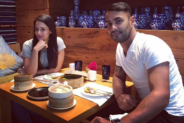 The popular cricket presenter married the Indian all-rounder, son of Roger Binny, in 2012. Mayanti met Binny during the rebel Indian Cricket League back in 2007.