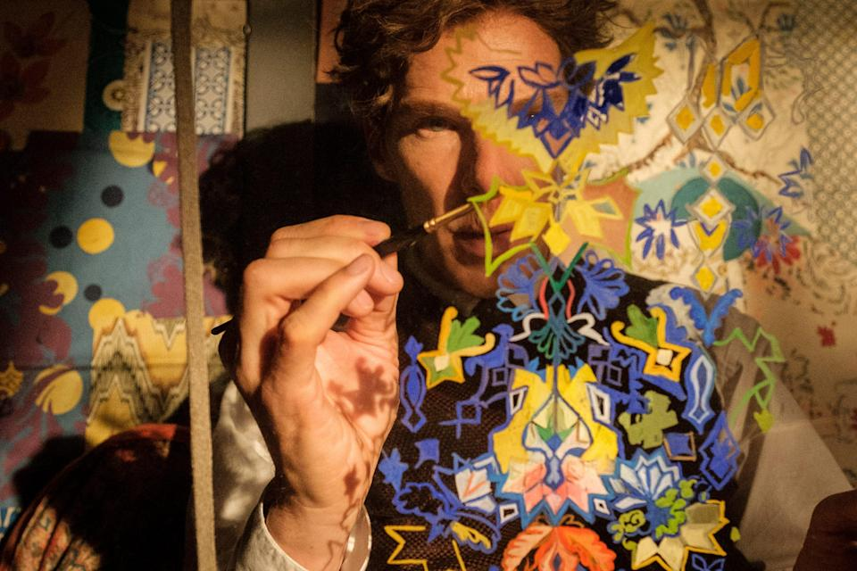 """Benedict Cumberbatch stars as the title artist, known for his trippy illustrations and love of cats, in the biopic """"The Electrical Life of Louis Wain."""""""