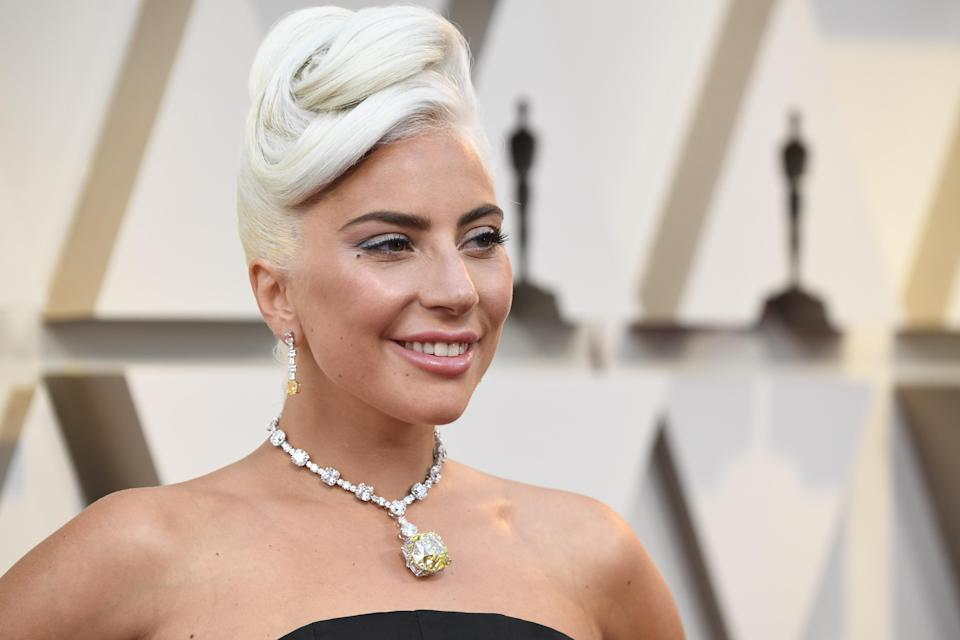 Lady Gaga attends the 91st Academy Awards. (Photo: Getty Images)