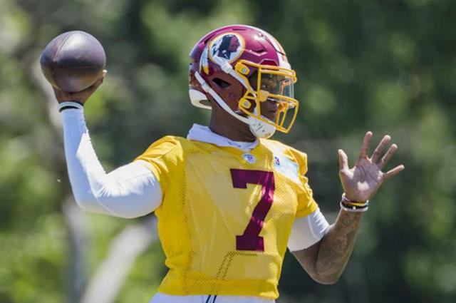 Gruden: Haskins 'deserves a shot, without a doubt' to start