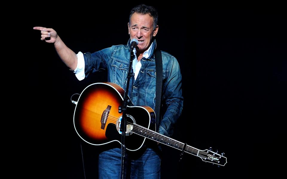 Still got it: Bruce Springsteen