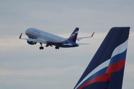 FILE PHOTO: An Aeroflot Airbus A320 aircraft takes off at Sheremetyevo International Airport outside Moscow