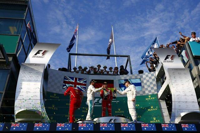 What did you think? Two drivers on the podium but it wasn't the start that Mercedes wanted for the 2017 season