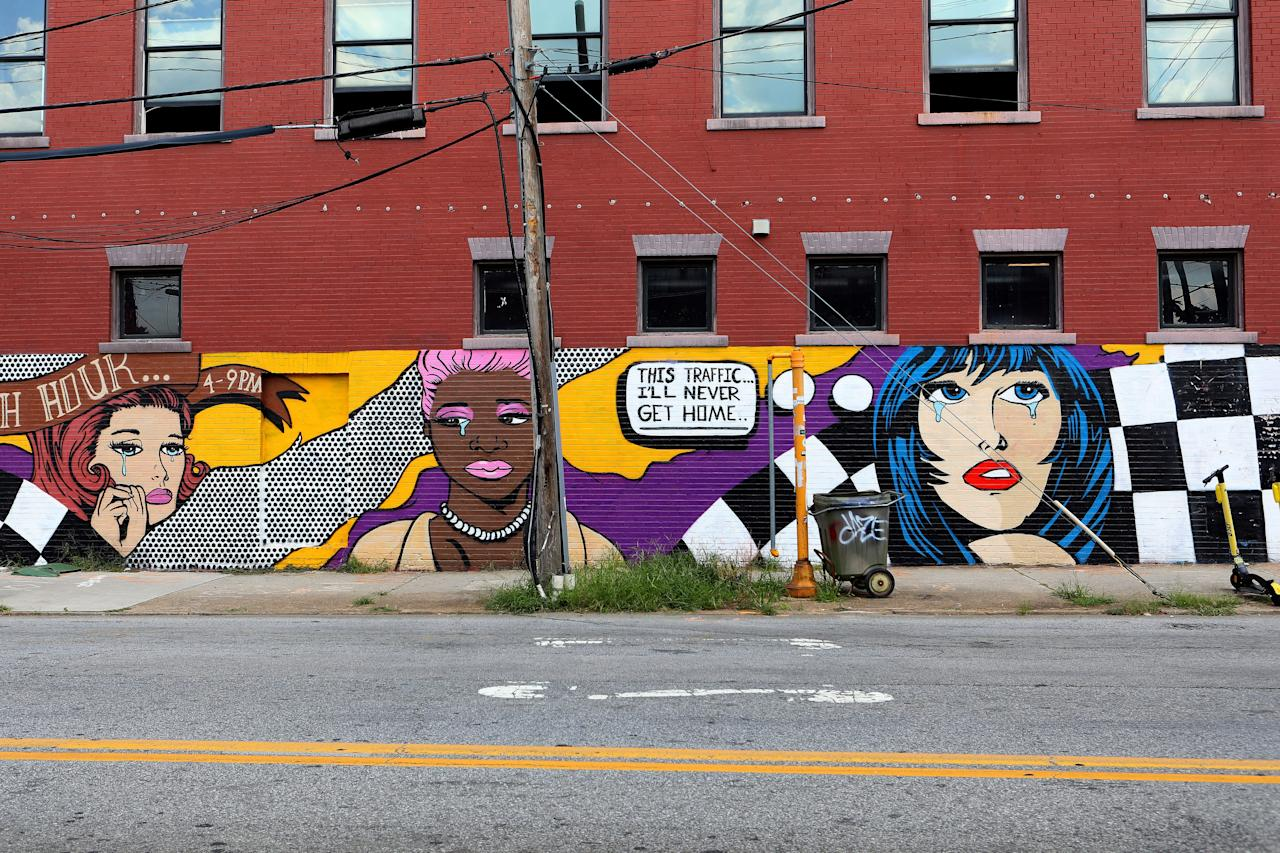 "<p><strong>What's the deal with this tour?</strong><br> You'll be guiding yourself on this exploration; just visit the Atlanta Street Art Map and choose which of the seven tours you want to explore, then strike out on your own. Each tour—including the <a href=""https://www.cntraveler.com/activities/atlanta/atlanta-beltline?mbid=synd_yahoo_rss"">Atlanta Beltline Eastside Trail</a>, Cabbagetown, Edgewood Avenue, Downtown, East Atlanta, <a href=""https://www.cntraveler.com/shops/atlanta/junkmans-daughter?mbid=synd_yahoo_rss"">Little Five Points</a>, and the Pittsburgh Neighborhood—has its own flavor, and there's plenty to enjoy at your own pace.</p> <p><strong>Who else are we likely to see on this route?</strong><br> You probably won't be the only one admiring and snapping pics of the vibrant street art, but you shouldn't encounter a crowd, either. If someone in your group has mobility challenges, a good barometer is whether they can safely navigate Atlanta's city sidewalks (since that's where most of the tour routes go). For more accessibility, choose the Atlanta Beltline Eastside Trail tour, which is nicely paved with easy ramps on and off.</p> <p><strong>What's on the itinerary?</strong><br> The Atlanta Street Art Map website is a passion project of retired engineer Arthur Rudick, who began compiling the massive list of more than 600 pieces of Atlanta-area street art in 2017. Each tour stop on the site has a photo of the art; some are also linked to artists' websites for more information. Because of the volume of entries and the fact that street art changes quickly, however, don't expect a lot of prose describing the work.</p> <p><strong>What stands out the most about it?</strong><br> The most striking thing about the breadth of Atlanta's street art in town is its diversity. There's the life-like John Lewis ""Hero"" mural by The Loss Prevention artists collective on Jesse Hill Jr. Drive, bright contour drawings by Brazilian artist Yoyo Ferro, and the painterly works by Lauren Pallotta Stumberg. Whatever style you're drawn to, you'll find it in Atlanta if you spend enough time looking.</p> <p><strong>Anything else we should know about the tour before we plan to embark on it?</strong><br> These tours are free, so you can't beat the value, particularly on a perfect-weather day. The best way to experience it is to find an art-appreciative friend and wander at your leisure, stopping for to drink and snack along the way.</p>"