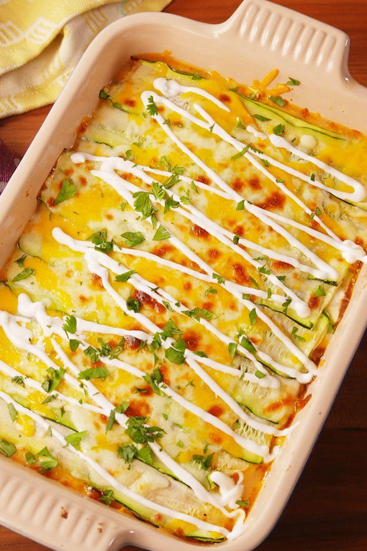 "<p>So flavorful, you won't even notice the noodles are gone.</p><p>Get the recipe from <a href=""https://www.delish.com/cooking/recipe-ideas/recipes/a53017/taco-zucchini-lasagna-recipe/"" rel=""nofollow noopener"" target=""_blank"" data-ylk=""slk:Delish"" class=""link rapid-noclick-resp"">Delish</a>.</p>"