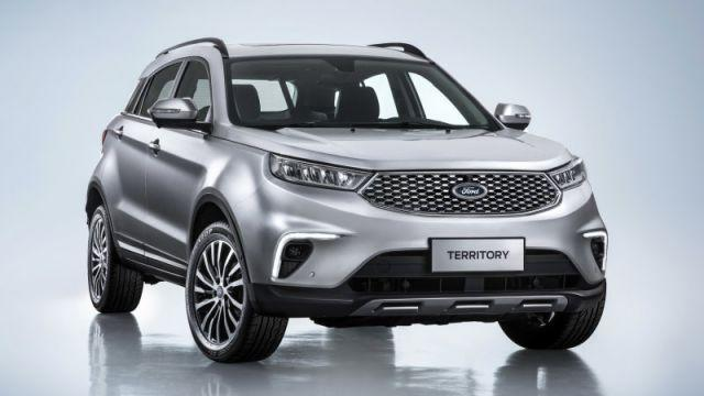 The all-new Ford Territory SUV