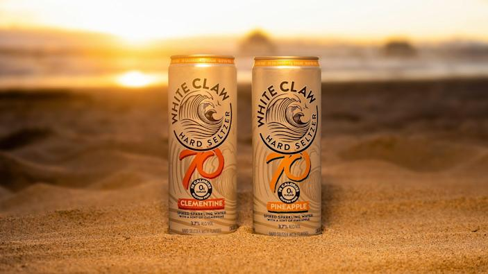 White Claw 70 comes in new flavors.