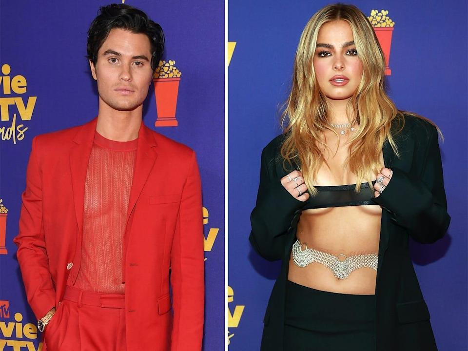 Two of the wildest looks from the 2021 MTV Movie Awards