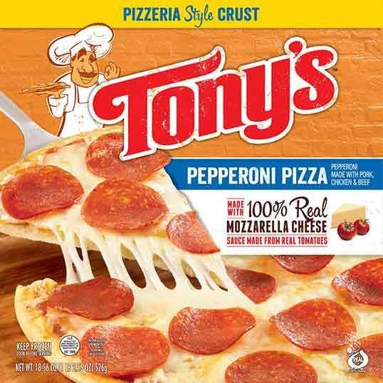 """<p>As one taster said, """"I had low expectations for this, but I actually can't stop eating it<span class=""""redactor-invisible-space"""">."""" Let's be real: Tony's is not gourmet pizza, but there's just something about it that won't let you stop munching on it until there's nothing left. Let's not question it. </span></p>"""