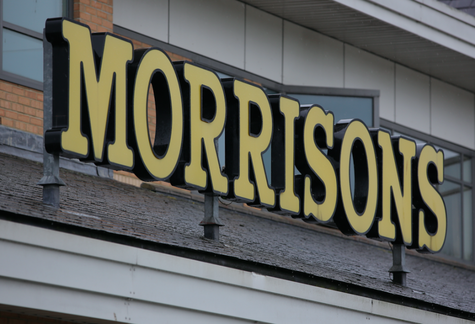 Morrisons has changed its pie policy in light of the row (Picture: Rex)