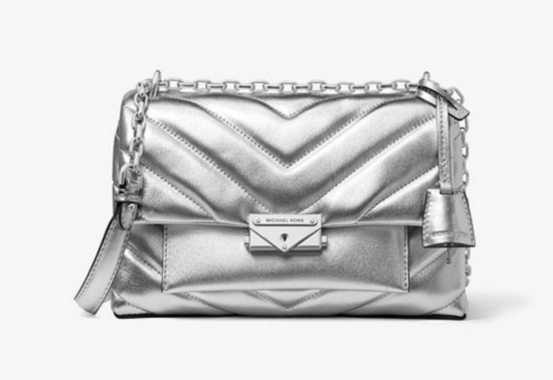 Cece Medium Quilted Metallic Leather Convertible Shoulder Bag. (PHOTO: Michael Kors)