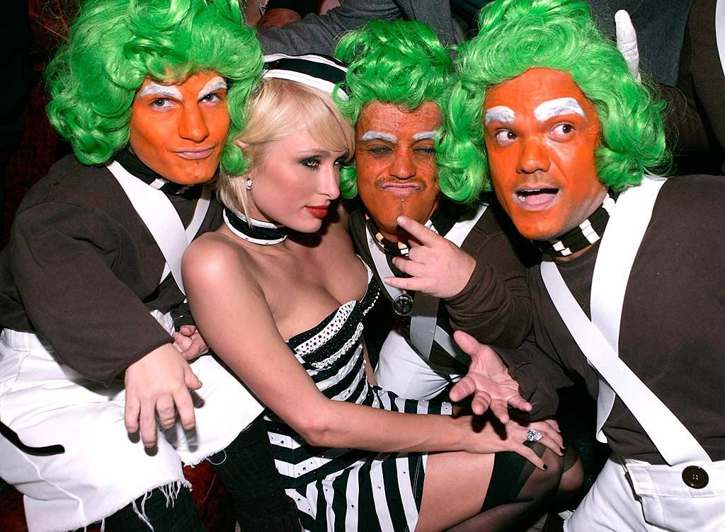 """Oompa, Loompa, doom-pa-dee-da, if you're not greedy, you will go far. You will live in happiness too, like the Oompa Loompa doom-pa-dee-do!"" Chris Weeks/<a href=""http://www.wireimage.com"" target=""new"">WireImage.com</a> - October 31, 2007"
