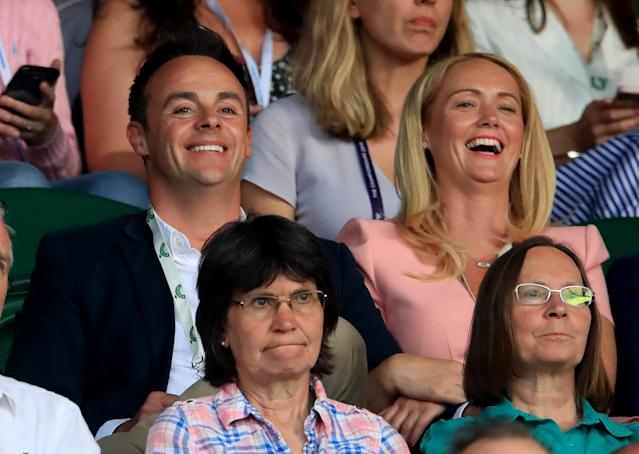 Ant Mcpartlin Says Girlfriend Is His Happy Place