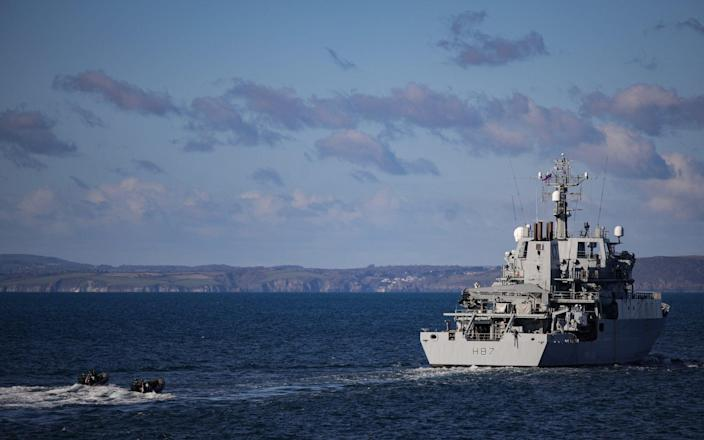 Offshore patrol vessels are heading to Jersey - LPhot Phil Bloor/Royal Navy