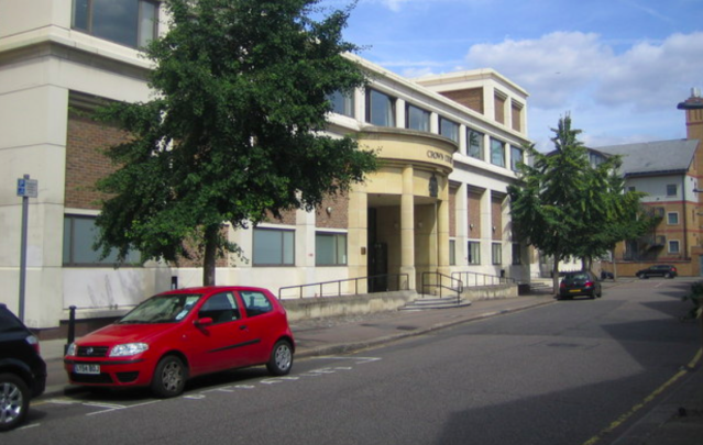 <em>Wallace was sentenced at Blackfriars Crown Court (Wikipedia)</em>