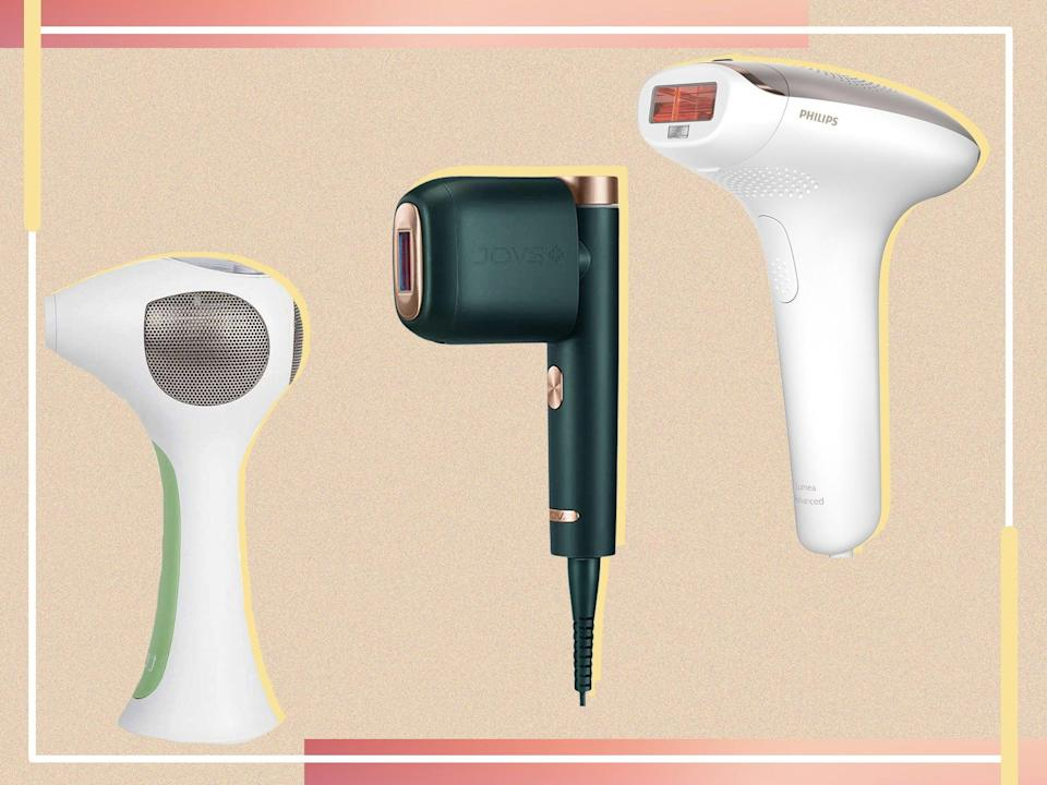 There are two types of machines available for home use: laser and IPL. We've tested a mix to give you our verdict (iStock/The Independent)