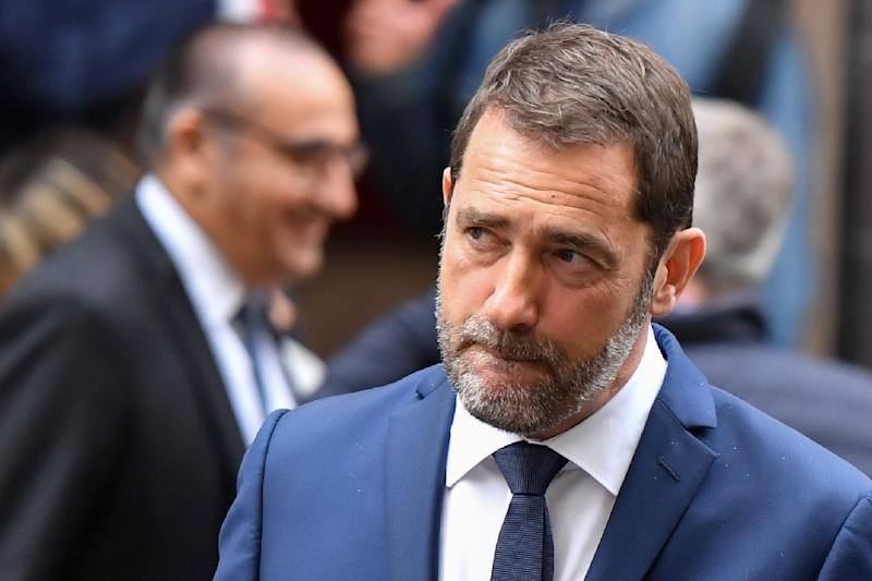 French Interior Minister Christophe Castaner is under increasing pressure for his initial account of the May Day protests (AFP Photo/GERARD JULIEN)
