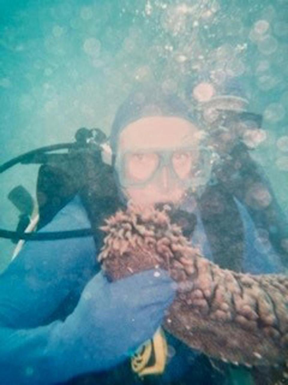 Sue embarked on a divorce bucket list, where she travelled the world and enjoyed new experiences, including scuba diving. (Collect/PA Real Life)