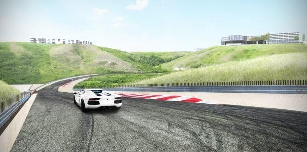 About 170 hectares of land near near Rosebud, Alta., about 100 kilometres east of Calgary, has been rezoned for development of a racetrack resort.
