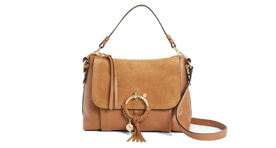 See By Chloé Joan Suede Leather Small Satchel Bag