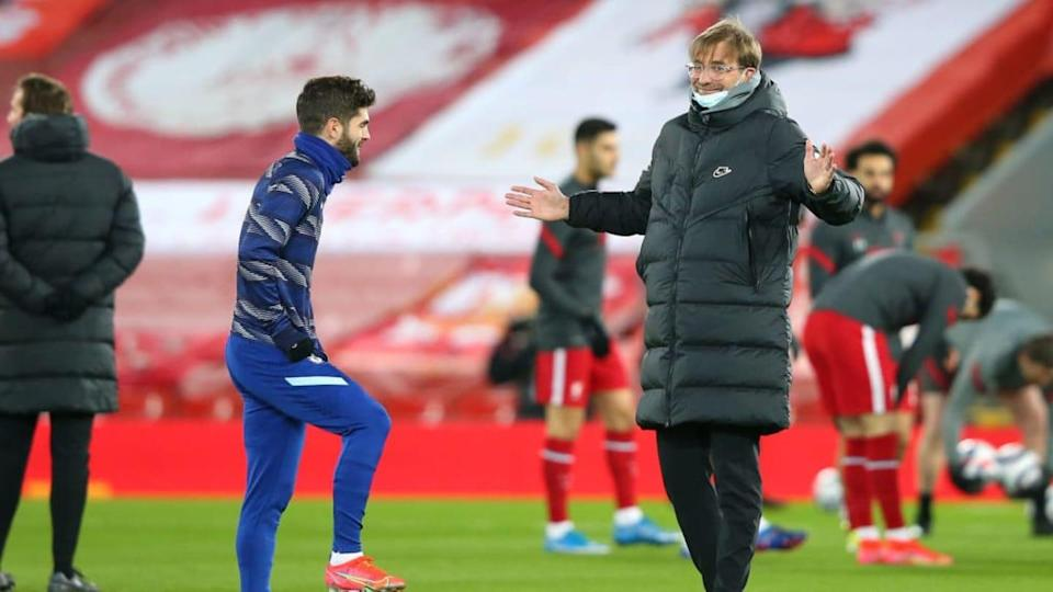 Klopp já treinou Pulisic no Borussia Dortmund. | Alex Livesey - Danehouse/Getty Images