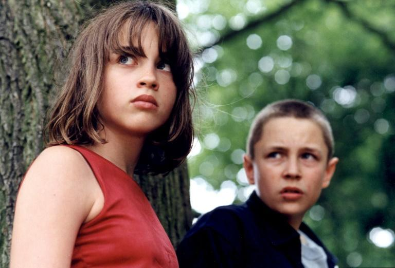 "Adele Haenel (left) in a scene from ""The Devils"", a film in which she played an autistic orphan in an incestuous relationship with her brother"