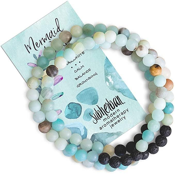 <p>The <span>Subherban Mermaid Aromatherapy Bracelet </span> ($25) will help ease the tensions of the day.</p>