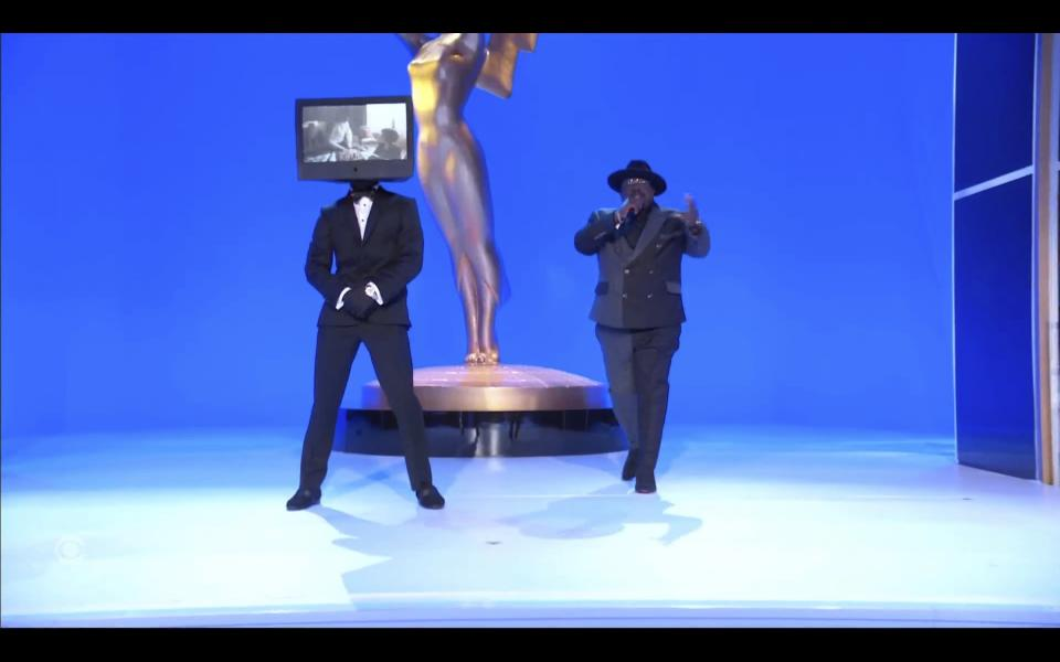 In this video grab issued Sunday, Sept. 19, 2021, by the Television Academy, Cedric the Entertainer speaks at the 73rd Primetime Emmy Awards at L.A. Live in Los Angeles. (Television Academy via AP)