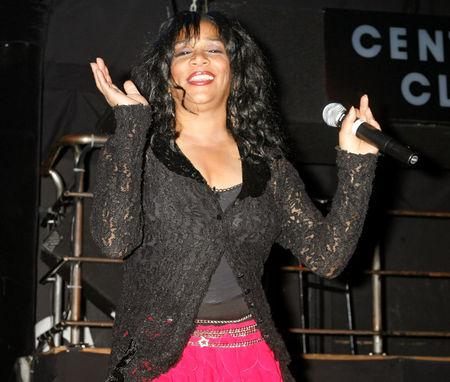 FILE PHOTO: Sister Sledge performs at the CD launch party for the 'We Are Family' All-Star Katrina benefit CD and DVD in Los Angeles