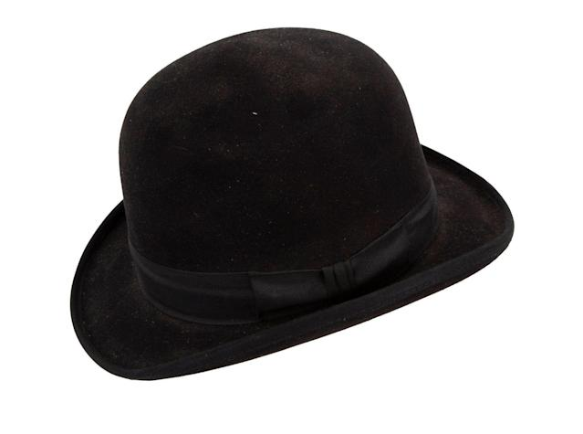 This bowler hat is estimated at $1,200. (Photo: Julien's Auctions)