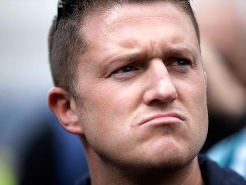 Tommy Robinson quit the English Defence League in 2013, the far-right street protest group he originally set up: Getty
