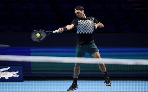 <span>Roger Federer remains elusive on whether he will challenge in next year's clay court season </span> <span>Credit: Reuters  </span>