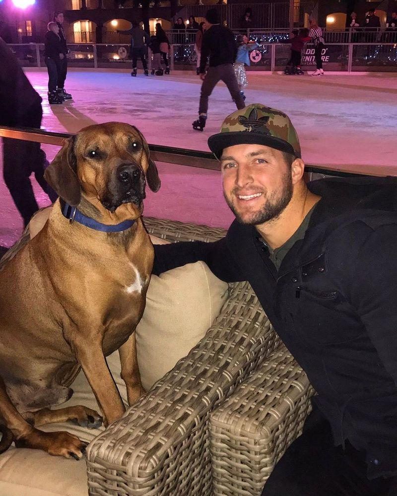 Tim Tebow Posts Emotional Farewell Tribute to His Dog, Bronco