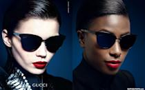 <p>Howard can rock a red lip just as well as Abbey Lee Kershaw. </p>