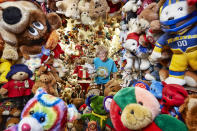 <p>We imagine Jackie Miley has been building this collection for a while, with a staggering 8026 teddies to her name. (PA) </p>