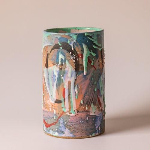 "From the names alone—Lil' Sneezy, Dream Vacation, and Pumpkin-Spiced Cup—we're fans of Dustin Barzell's Brooklyn-made ceramics. But the wares' colorful splatter designs are what really sold us. <a href=""http://ceramicism.football/shop/h6wdg4jwkms98lh9psh5773h4w3kn8"" rel=""nofollow"">SHOP NOW</a>: Tropical Vacation by Ceramicism, $160, ceramicism.football"