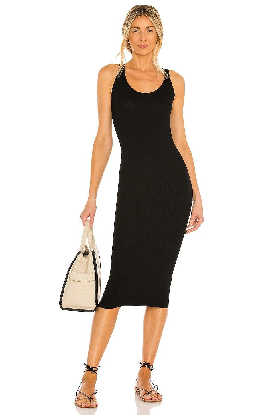 <p>You'll reach for this essential <span>Enza Costa Tank Midi Dress</span> ($156) all the time.</p>