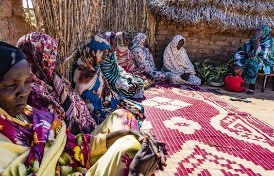 Displaced women in Zamzam camp say nothing has changed since the revolution in Sudan (Bel Trew)