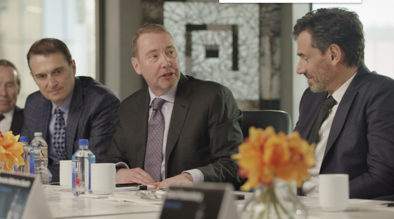 """DoubleLine Capital CEO and founder Jeffrey Gundlach speaks during the firm's inaugural """"Round Table Prime"""" event."""