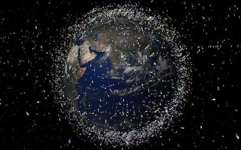 Experts have warned for several years about the dangers from space junk