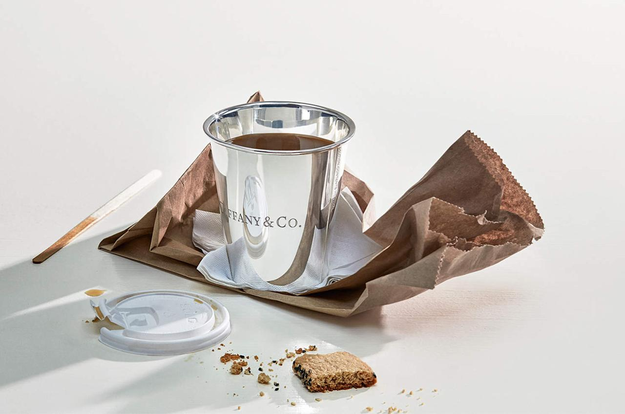 """<p>Labelled """"Everyday Objects,"""" the line features common household items handcrafted from sterling silver, enamel and wood; and as you'd expect, the prices aren't nearly """"everyday."""" </p>"""